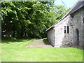 SN0313 : Minwear Church and path by welshbabe