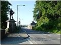 SO0288 : David Davies' statue, Llandinam by Christine Johnstone