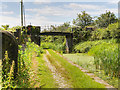 SD7909 : Manchester, Bolton and Bury Canal, Bridge#20 (Benny's Bridge) by David Dixon
