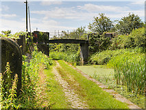SD7909 : Manchester, Bolton and Bury Canal, Bridge#20 (Benny's Bridge) by David Dixon