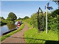 SJ4171 : Shropshire Union Canal Towpath at Caughall Bridge by David Dixon