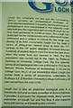 R6441 : Information board at Lough Gur visitor centre by Antony Dixon