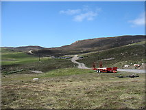 HU3263 : The track to Burki Waters, Muckle Roe by David Purchase