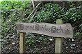 NT5735 : Diamond Jubilee Path sign near Redpath by Jim Barton