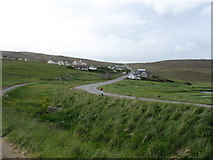 HU3078 : Urafirth village by David Purchase