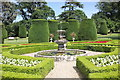 SJ0478 : The Parterre at Bodrhyddan Hall by Jeff Buck