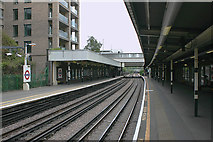 TQ3882 : Bromley-by-Bow District Line station by David Kemp