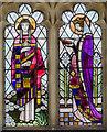 TF8342 : East window, St Margaret's church, Burnham Norton by Julian P Guffogg