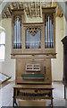 TF8342 : Organ, St Margaret's church, Burnham Norton by Julian P Guffogg