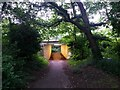 SZ0895 : Redhill: approaching the subway on bridleway O14 by Chris Downer