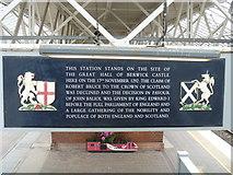 NT9953 : Railway station [2] by Michael Dibb