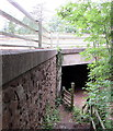 SO5620 : Underpass below the A40 near Pencraig by Jaggery