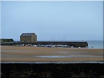 NT4999 : Elie harbour by Michael Dibb