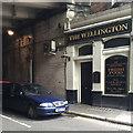 TQ3180 : Alaska Street side of The Wellington Hotel, Waterloo Road, London by Robin Stott