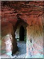 NY5638 : Lacy's Caves by Andrew Curtis
