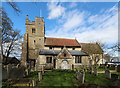 TL5770 : St Laurence, Wicken by John Salmon