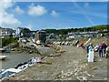 SN3960 : On the harbour wall, New Quay, Ceredigion by Robin Drayton
