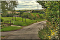 NZ4146 : Track to West Farm by Mick Garratt