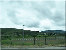 J0718 : Holding base of the former RoI Carrickcarnan/Killeen Border Post by Eric Jones