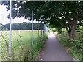 SZ0794 : Ensbury Park: footpath N36 heads south by Chris Downer