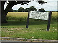 TL9978 : Holme Close sign by Geographer