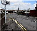 SS5798 : Speed cameras/ Camerâu cyflymder sign, Bryn Road, Loughor by Jaggery
