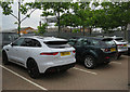 TL4859 : Jaguar F-Pace and new Discovery by Hugh Venables