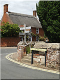 TL9979 : Thelnetham Road sign & roadsign by Adrian Cable