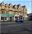 SH8479 : Cohens Chemist, Conway Road, Colwyn Bay by Jaggery