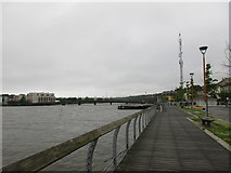 S7127 : Promenade by the River Barrow, New Ross by Jonathan Thacker