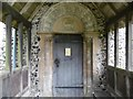 TR2653 : The Norman doorway at All Saints, Chillenden by Marathon