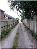SZ0995 : Moordown: Priory View Place heads east by Chris Downer