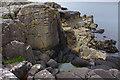 NG5335 : Shoreline rocks, An Aird by Ian Taylor