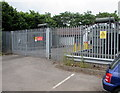 ST5393 : Chepstow Primary electricity substation  by Jaggery
