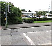 ST3186 : Pelican crossing, Docks Way, Newport by Jaggery