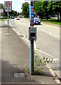 ST3186 : National Cycle Network  Route 4, Docks Way, Newport by Jaggery