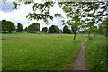 SP3677 : Playspace near Whitworth Avenue, Lindfield Park, Stoke Aldermoor, Coventry by Robin Stott