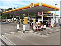 ST3089 : V-Power signs, Shell filling station, Malpas Road, Crindau, Newport by Jaggery