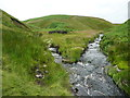 SE0607 : Confluence of Nearmost Grain with Shiny Brook, Marsden by Humphrey Bolton