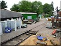 SU6635 : Storage in the yard, Medstead and Four Marks Station by Christine Johnstone