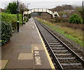 SO7542 : Southwest end of Colwall railway station by Jaggery