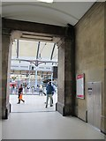 NZ2463 : The entrance to Newcastle Central station by Mike Quinn