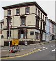 ST3088 : Yellow diversion sign, Bridge Street, Newport by Jaggery