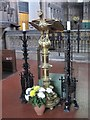 NZ2364 : The Church of St. Matthew, Big Lamp, Summerhill Street, NE4 - lectern by Mike Quinn