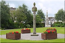 NX4355 : Old Mercat Cross, Wigtown by Jim Barton