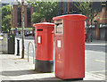 J3474 : Metered-mail box (BT1 393), High Street, Belfast (July 2016) by Albert Bridge