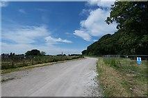 SK9869 : Access road by Bob Harvey