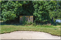 SU1007 : WWII airfield bombing decoy control bunker - Moors Valley Golf Course (2) by Mike Searle