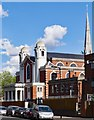 TQ3387 : New Synagogue, Egerton Road, Stamford Hill by Julian Osley