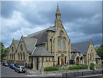 NZ2364 : Westgate Hill Baptist Church, Westgate Road, NE4 by Mike Quinn